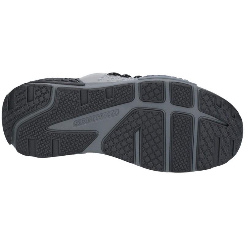... Skechers Kinectors Megahertz Boys Black-Charcoal Trainer ... d82a9c7ce6