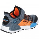Skechers Kinectors Thermovolt Boys Blue-Grey Trainer