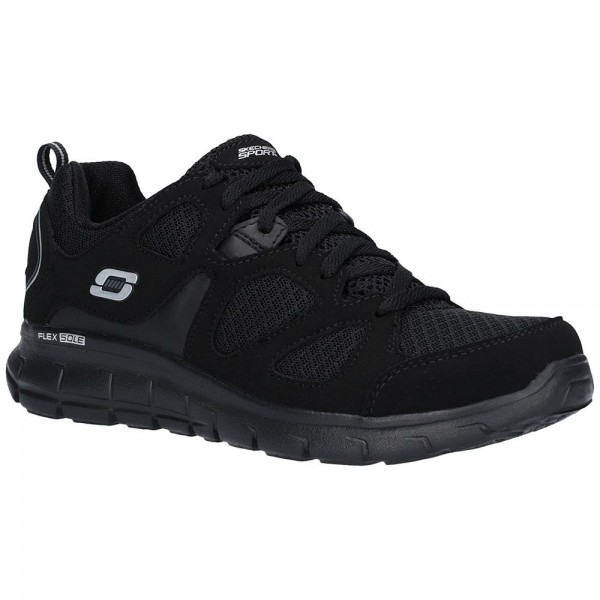 Skechers Vim Turbo Ride Boys Black Trainer