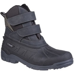 Cotswold Kempsford Black Waterproof Snow Boot