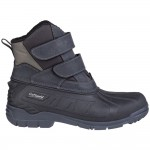 Cotswold Kempsford Mens Black Waterproof Snow Boot
