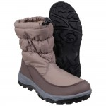 Cotswold Polar Womens Brown Waterproof Snow Boot