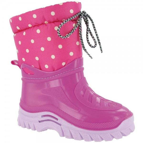 Flurry Girls Pink Waterproof Boot
