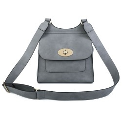 Superbia 1501 Womens Grey Bag