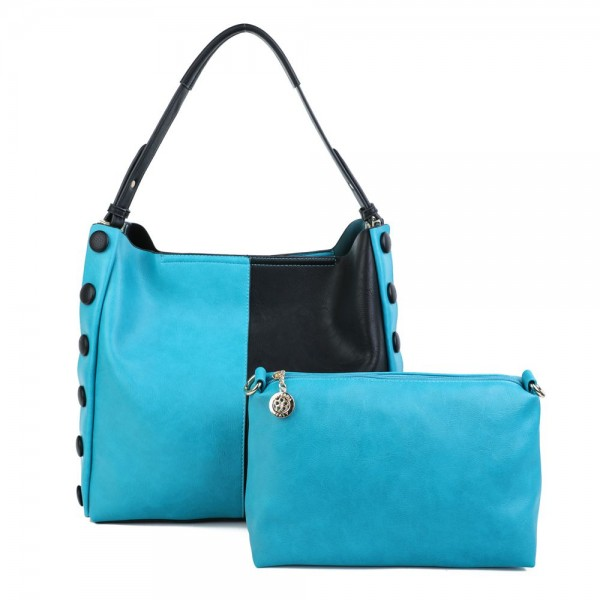 Superbia 8065 Womens Teal Bag