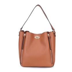Long and Son 1472 Womens Brown Shoulder Bag