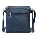 Long and Son 16631 Womens Navy Crossbody Bag
