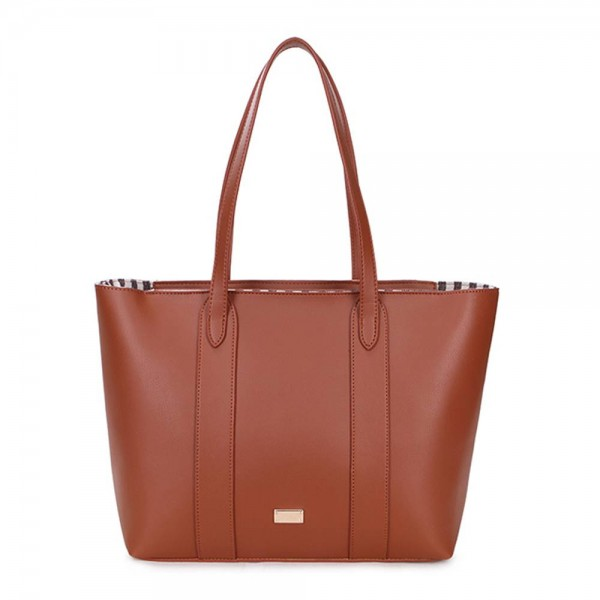 Long and Son 17739 Womens Brown Tote Bag