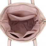 Long and Son 3882 Womens Light Gold Tote Bag
