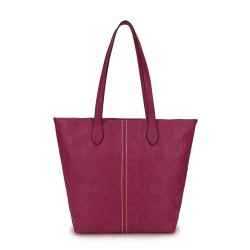 Long and Son 3882 Womens Purple Tote Bag
