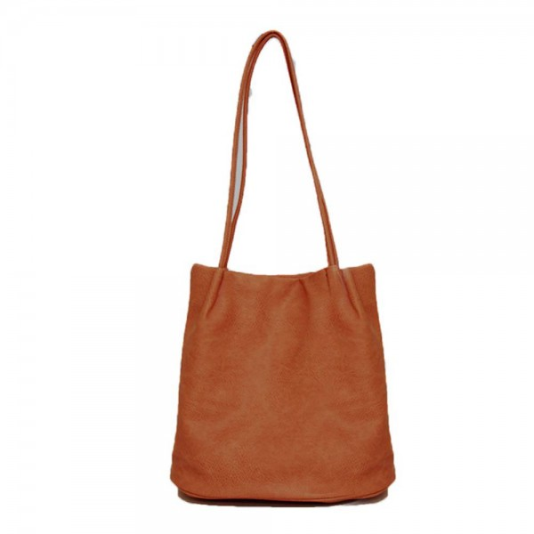 Long and Son 6773 Womens Brown Shoulder Bag