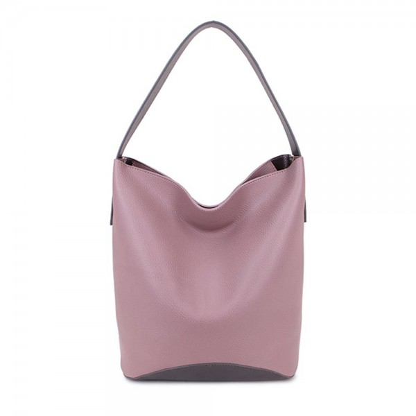 Long and Son 67760 Womens Pink Tote Double Bag