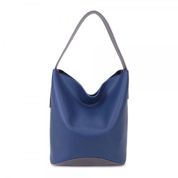 Long and Son 67760 Womens Navy Tote Bag In a Bag