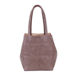 Long and Son 67763 Womens Taupe Tote Bag in Bag