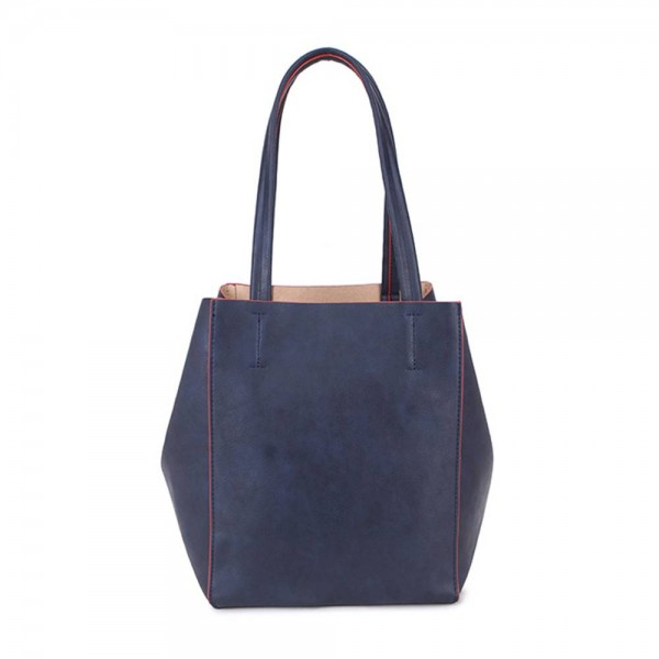 Long and Son 67763 Womens Blue Tote Triple Bag