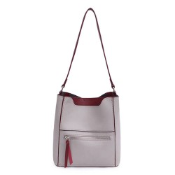 Long and Son 8423 Womens Light Grey Tote Bag in a Bag