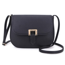 Long and Son F8273 Womens Black Crossbody Bag