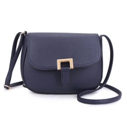 Long and Son F8273 Womens Blue Crossbody Bag