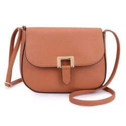 Long and Son F8273 Womens Tan Crossbody Bag