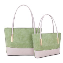 Long and Son G6142 Womens Green Bag in a Bag