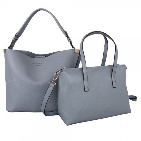 Red Cuckoo 556 Womens Blue Duo Shoulder Bags