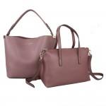 Red Cuckoo 556 Womens Dusky Purple Duo Shoulder Bags