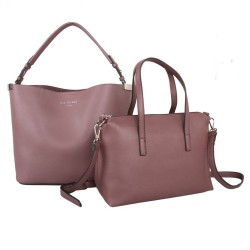 Red Cuckoo 556 Womens Dusky Purple Duo Shoulder Bags