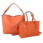 Red Cuckoo 556 Womens Orange Duo Shoulder Bags