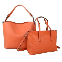 Red Cuckoo 556 Womens Orange Duo Shoulder Bags