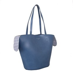 Red Cuckoo 559 Womens Blue Tote Bag