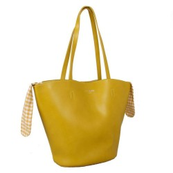 Red Cuckoo 559 Womens Citus Yellow Tote Bag