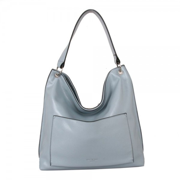 Red Cuckoo 579 Womens Blue Shoulder Bag