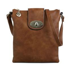 Superbia 2931 Womens Tan Crossbody Bag
