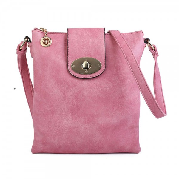 Superbia 2931 Womens Pink Crossbody Bag