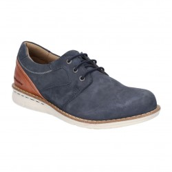 Hush Puppies Chase Casual Navy Lace Up Shoe