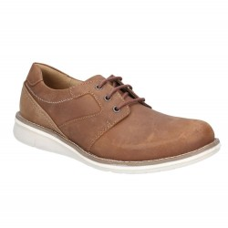 Hush Puppies Chase Casual Brown Lace Up Shoe