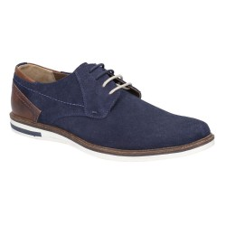 Hush Puppies Frankie Blue Lace Up Shoe