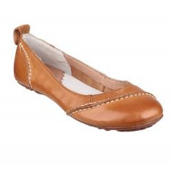 Hush Puppies Janessa Tan Slip On Shoe
