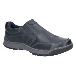 Hush Puppies Jasper Navy Slip On Shoe