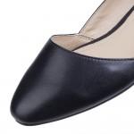 Hush Puppies Jovanna Phoebe Black Slip On Shoe
