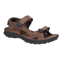 Hush Puppies Kobe Brown Velco Sandal