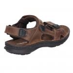 Hush Puppies Kobe Brown Velco Sandal
