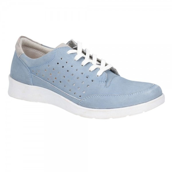 Hush Puppies Molly Blue Lace Up Shoe