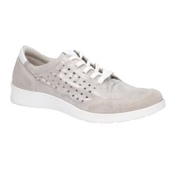 Hush Puppies Molly Silver Lace Up Shoe