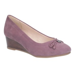 Hush Puppies Morkie Charm Light Plum Slip On Shoe