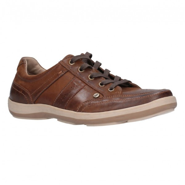 Hush Puppies Vizla Tan Lace Shoe