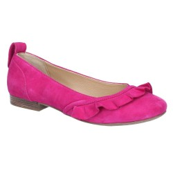 Hush Puppies Willow Ballerina Pink Slip On Shoe