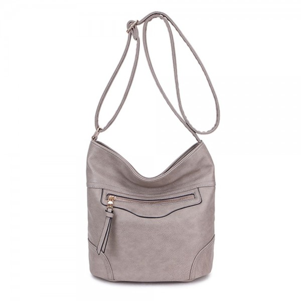 Long and Son 18804 Womens Beige Shoulder Bag