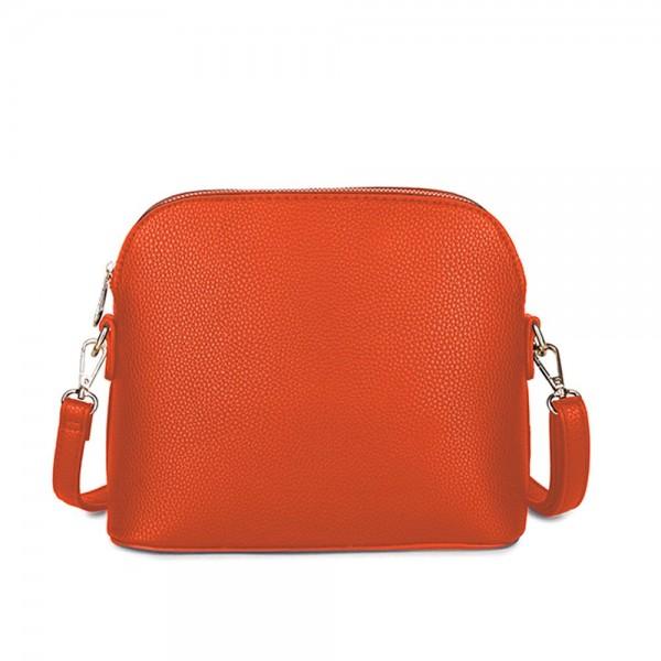 Long and Son 31135 Womens Orange Crossbody Bag