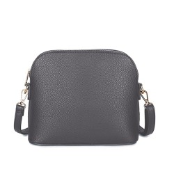 Long and Son 31135 Womens Dark Grey Crossbody Bag
